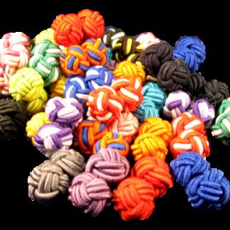 Manschettknutar Många olika färger