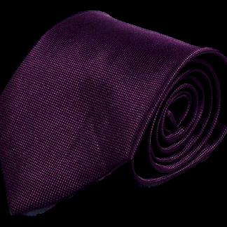 Mörklila slips 8cm