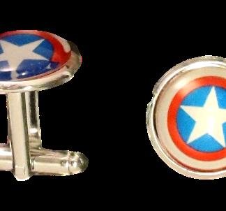 Manschettknapp Captain America