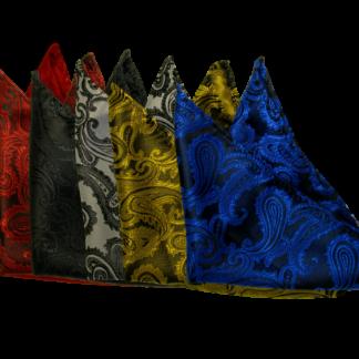 Näsduk Paisley Flera olika färger