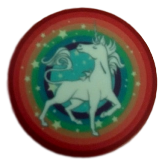 Popsocket - Pop up phone - Mobilhållare med motiv av Enhörning Unicorn