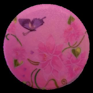 Popsocket - Pop up phone - Mobilhållare med motiv av blommor och fjäril
