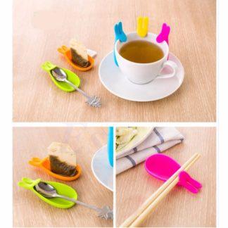 Hållare för tepåse