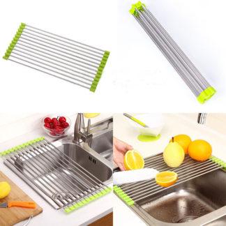 Diskställ som du lägger över vasken