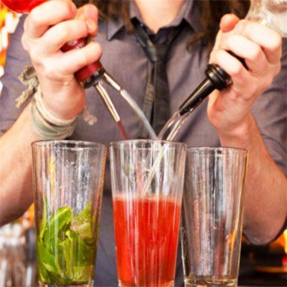 Flaskpip för drinkblandning