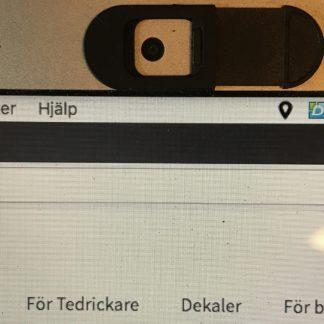 Webbkamera Skydd Öppen