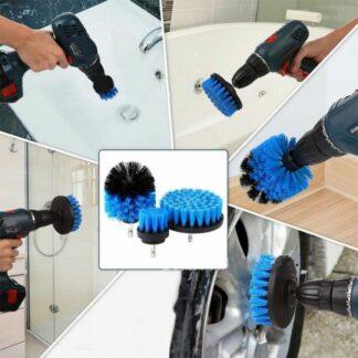 Rengöringsborstar för badrum och andra ytor som behöver rengöras