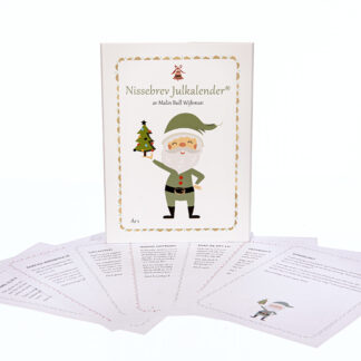 Nissebrev Julkalender för barn