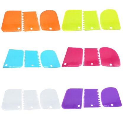 Degskrapa i plast - 3-pack